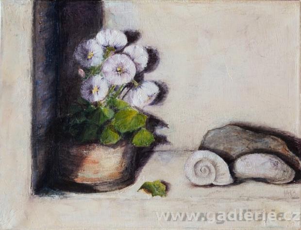 LÉTO NA KVILDĚ, olej, plátno na rámu, 40 x 30, NEDOSTUPNÝ